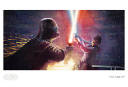 Star Wars Not A Jedi Yet Christopher Clark Darth Vader Luke Le Giclee On Paper