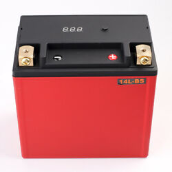 Dohon Lfp14l-bs 460cca Lithium Battery Lifepo4 For Motorcycle Rechargeable Bms