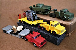 Dinky Toys Mighty Antar Trucks , Lot Of 3, Die Cast. ,vintage Collection