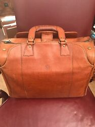 Glaser Designs SF Leather  Litigation Bag Luggage