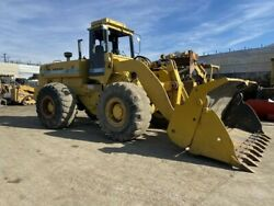 540 DresserPayloader Wheel LoaderRunning and a hard working machine four in