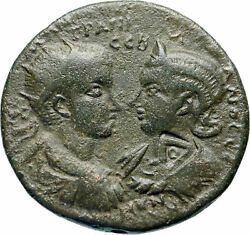 Gordian Iii And Tranquillina And039 Medallion And039 Seleukeia In Cilicia Roman Coin I83017