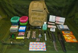 Ready To Go With New Supplies Edc Every Day Carry Bag, Bug Out Bag, When Shtf