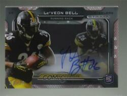 2013 Topps Strata Signature Relics Ruby /15 Leand039veon Bell Rpa Rookie Patch Auto