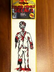 Zombie Family Decals Bloody Thirsty Dad Mom Brother Sister Baby