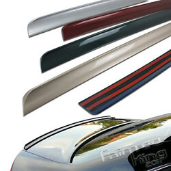 2006-2008 Fit For Audi A4 B7 4dr Rear Trunk Lip Spoiler Painted Ly7g
