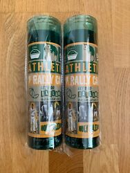 Two Oakland A's Rally Candles Sga 05/25/19 Oakland Athletics Mlb Brand New