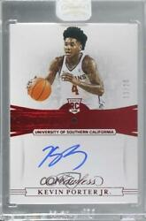 2019-20 Flawless Collegiate Gems Signatures Ruby /20 Kevin Porter Jr Rookie Auto