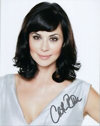 Catherine Bell Authentic Hand-signed Jag 8x10 Photo Stuff/fhm B