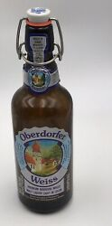 Oberdorfer Weiss German Beer Bottle Wire Bail And Rubber Seal Empty Euc
