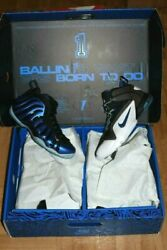 Nike Air Penny Pack Sharpie Pack Mens Basketball Shoes - Mens Size 10