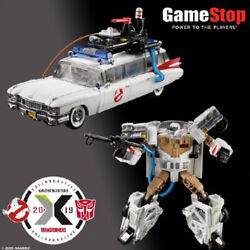 Transformers Hasbro Ghost Busters Ecto-1 Ghost Car Ectotron Limited Edition