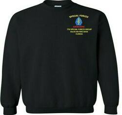 7th Special Forces Group Eglin Afb-fl Embroidered Crewneck,polo,hoodie,zipper