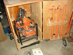Victaulic Pct-ii Pipe Cleaning Tool , Used In Working Condition, Grinder