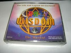 Life And Legend Of Gurdjieff Crazy Wisdom The Musical 2-disc Cd Set Sealed