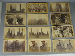 Lot Of 12 Early Stereoviews Of Colorado / Most By Cunningham And Co