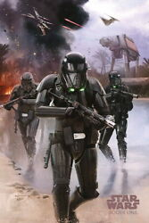 90770 Star Wars Rogue One Movie Death Troopers Beach Decor Laminated Poster Us