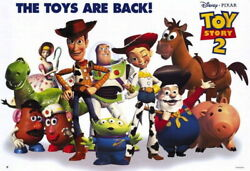 91274 Toy Story 2 Movie Group The Toys Are Back Decor Laminated Poster Us
