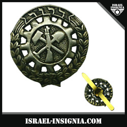 Israel Palestine Pre State Zionist Youth Movment 'dror' Pin Badge - Rare