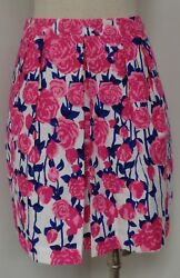 Vineyard Vines Kentucky Derby Preakness Run For The Roses Skirt Size 0 New W Tag