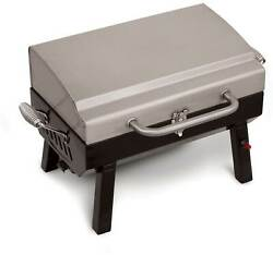 Char-broil 200 Premium Stainless Steel Grill2go Tabletop Portable Gas Grill
