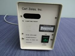 Carl Zeiss Xbo 75 Hbo 100 Arc Lamp Power Supply For Microscope Lamp 910426