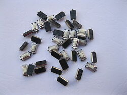 2000 Pcs Momentary Tact Smd Tactile Pushbutton Micro Switch 2 Pin 3x6x2.5mm New
