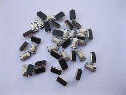 5000 Pcs Momentary Tact Smd Tactile Pushbutton Micro Switch 2 Pin 3x6x2.5mm New
