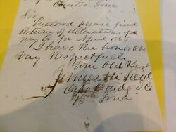 582 Civil War Christian Commission 15th Iowa Letter Note Stationary 1865