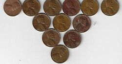 Penny Collection 1909 Untill Present. 1920 +1930+1940+1950+1960+7080902000