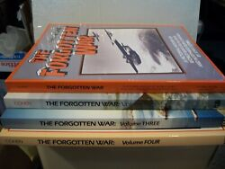 Stan Cohen Forgotten War. Pict Hist Of Wwii In Alaska And Nw Canada 4 Volumes