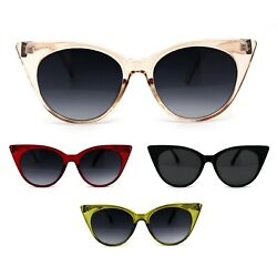 Womens Gothic Cat Eye Retro Plastic Sunglasses $9.95