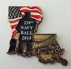 Navy World War Ii Museum New Orleans Chief Cpo Ball Louisiana St. Challenge Coin