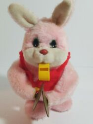 Vintage 1950s Musical Jolly Rabbit Cymbal Energizer Bunny Toy Works Rare