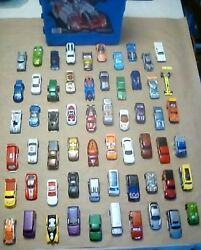 Hot Wheels 60pc.90and039s-2000and039s Collectibles Lot With Hot Wheels Carry Caseno Junk