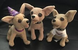 Taco Bell Chihuahua Happy New Year 2000 Yo Quiero Taco Bell Chihuahua Dogs Puppy