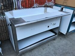 48 Steam Table Single Burner Natural Gas / No Glass - Nsf Approved