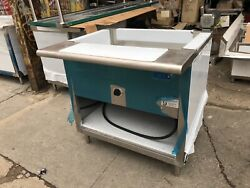 36 Electric Steam Table 208 Volts Single Phase - No Glass - Nsf