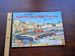 American Flyer Trains For 1957-- Catalog