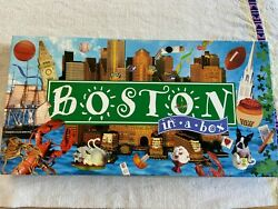 Boston in a Box Family Board Trading Monopoly Game