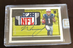 2019 Panini One N'keal Harry Nfl Shield Patch Auto Autographs 1/1 Patriots Rare