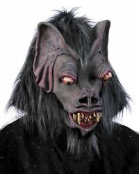Collectors Edition Fly By Night Vampire Bat Latex Face Mask