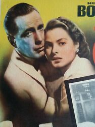 8 Casablanca Movie Lobby Cards Posters 1942 Antique Mexican Spanish Gifts