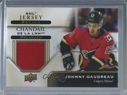 2019 Upper Deck Tim Hortons Collector's Series Nhl Jersey Relics Johnny Gaudreau
