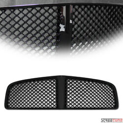 For 05/06-10 Dodge Charger Black Mesh Front Hood Bumper Grill Grille Replacement