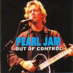 Pearl Jam  Out of Control   Rare Live Import cd