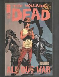 The Walking Dead 115-126 All 12 Issue Run / All Out War 2013 9.0-9.2 Wh