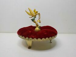Vintage Tinkerbell Pincushion Figural 1960and039s