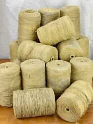 Collection Of Twenty Large Antique French Twine Spools