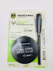 Knight And Hale Canyon Cutter Turkey Pot Call - Kht1012-t Bone Collector